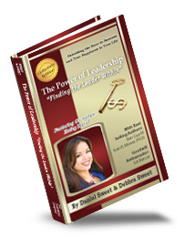 "Kathy David co-author of The Power of Leadership: ""Finding the Leader Within"""